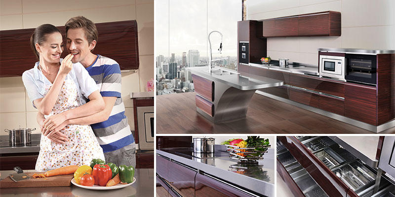 Hygienic Stainless Steel Kitchen Base Cabinets Palace Inquire Now
