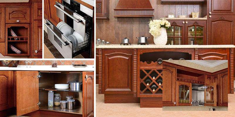Hot stainless steel wall cabinets kitchen countertop versailles beige Fadior Stainless Steel Kitchen Cabinets Brand