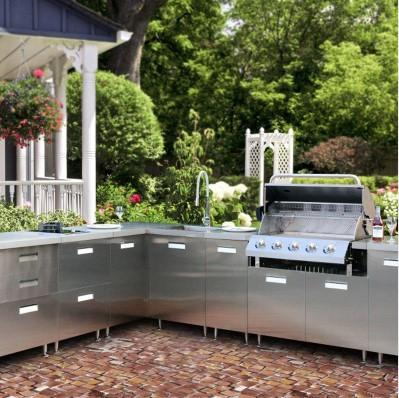steel kitchen cabinet