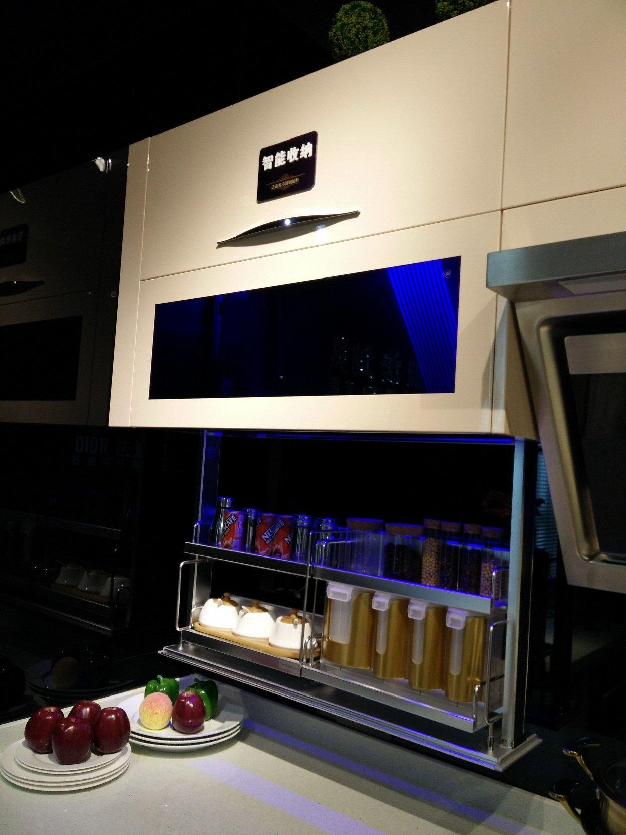 Modular  Stainless Steel Kitchen Modern Beige  U Shape - Z003 Love in Milan